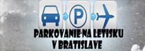 parkování u letiště Bratislava - rezervace