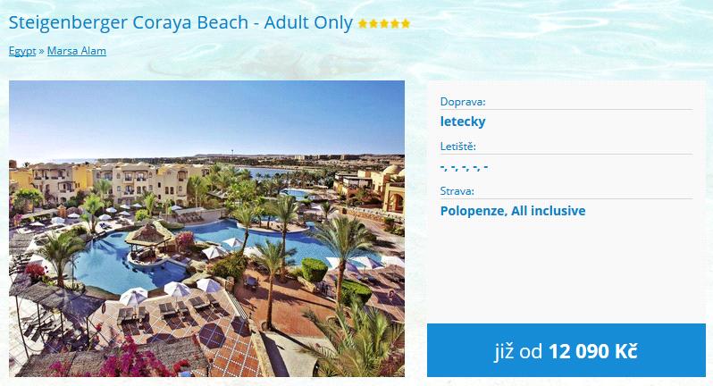 Steigenberger Coraya Beach - Adult Only
