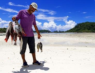 rybaření na Seychelách