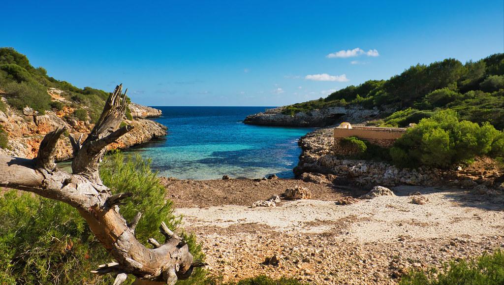 Mallorca, Cala Brafí, dovolená bez dětí
