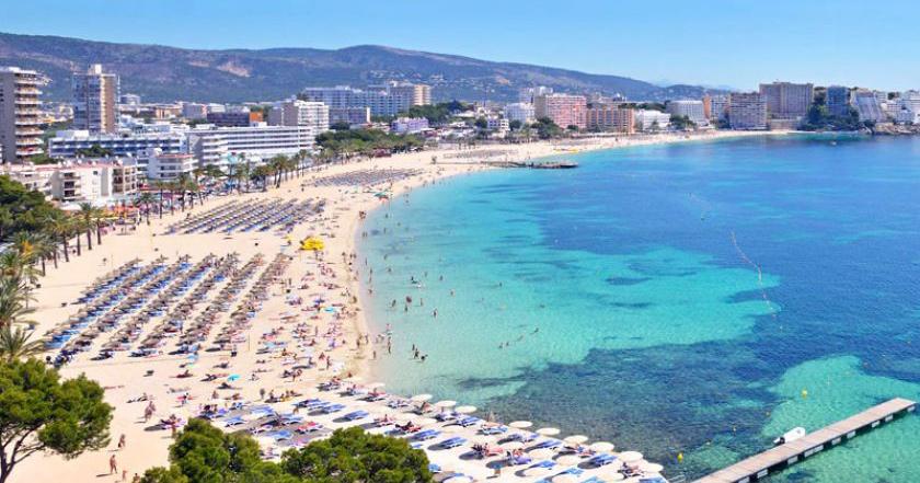 dovolená bez dětí Magaluf Mallorca
