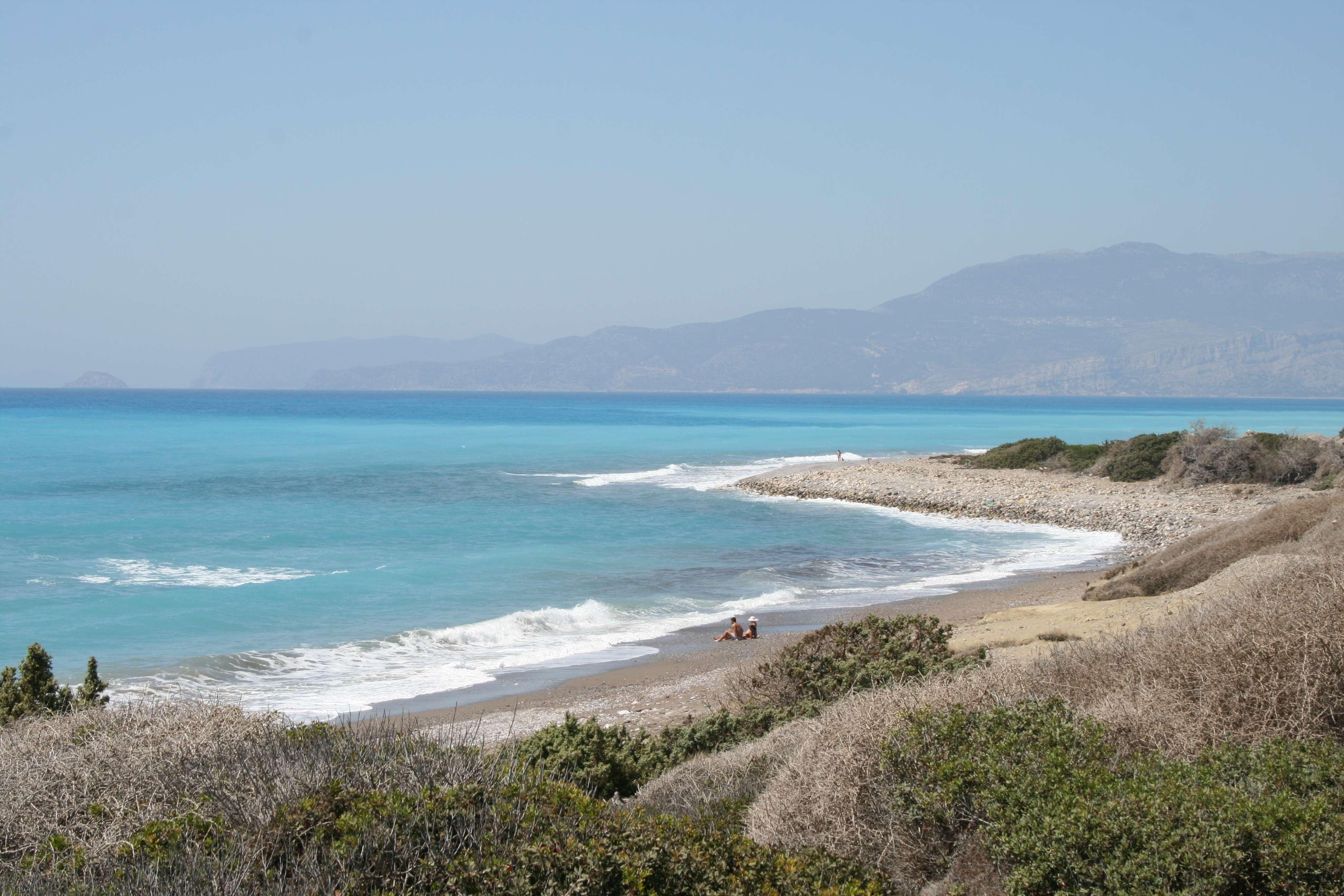 Apolakkia beach Rhodos